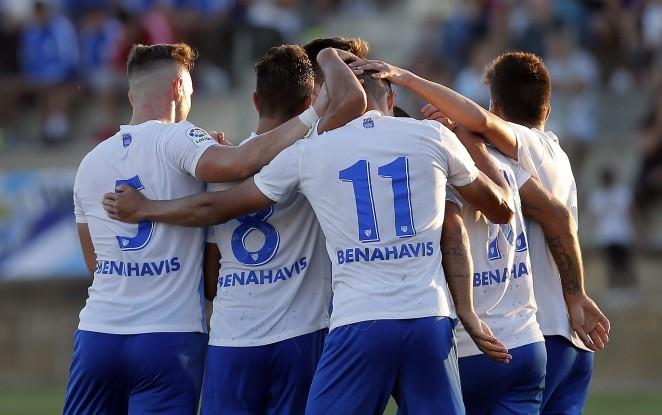 Jack Harper fait sensation à l'Atlético Malagueño. CDMalaga