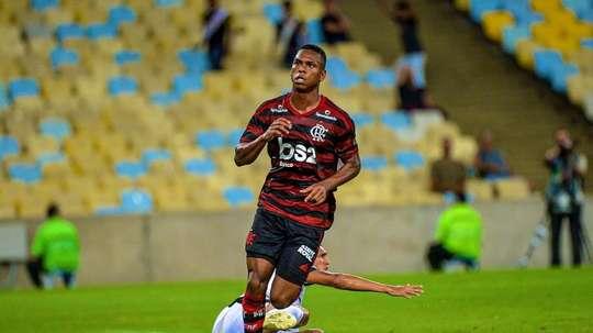 Lucas Silva alza el vuelo de Flamengo. Flamengo
