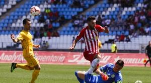Empate sin goles entre Almería y Alcorcón. LaLiga