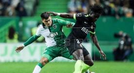 O atacante do Sporting de Portugal está a um passo de sair para o Dijon, da França. EFE