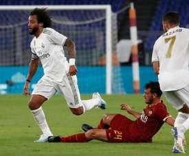 Les éloges de Marcelo pour Hazard. Twitter/RealMadrid
