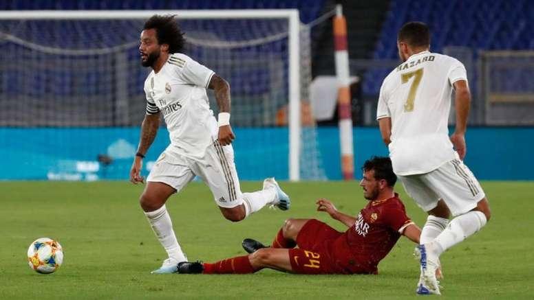 El seguro de vida del Real Madrid. Twitter/RealMadrid