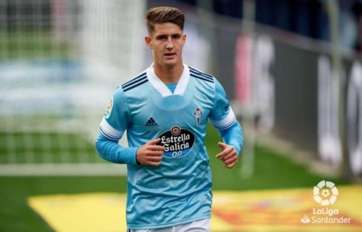 Miguel Baeza volverá al Bernabéu como futbolista del Celta. LaLiga