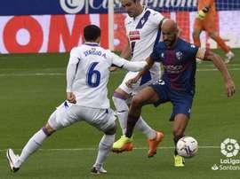 Mikel Rico lamentó el momento en el que llegó el gol. LaLiga