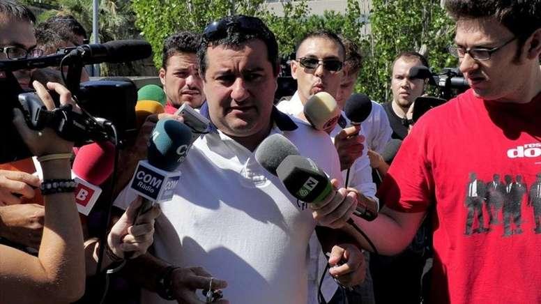 El Tribunal absuelve a Raiola, que volverá a la acción. AFP