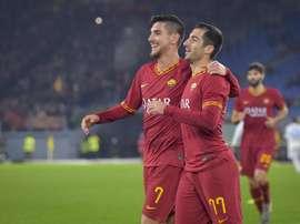 La Roma volvió a vencer en el Olímpico. Twitter/ASRomaEspanol