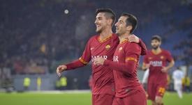 Pellegrini qualifie la Roma.Twitter/ASRomaEspanol