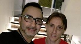 El ojo de Modric ha mejorado mucho. Instagram/jmiguelSiero
