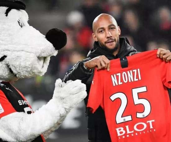 N'Zonzi reste à Rennes. AFP