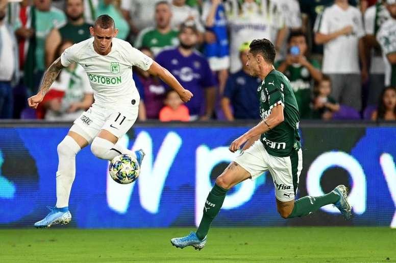 Palmeiras tumba a Nacional tras 19 penaltis. AtléticoNacional