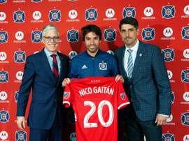 Gaitán, de la MLS à la Premier League ? Twitter/ChicagoFire