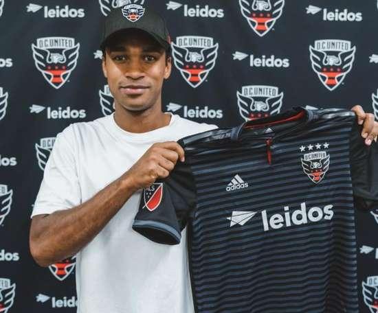 DC United signe Kamara. Twitter/DCUnited