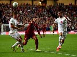 Liverpool won 2-0. Twitter/LFC