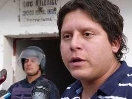 Imagen de Pablo Martel, entrenador que agredió a un jugador de Comercio.