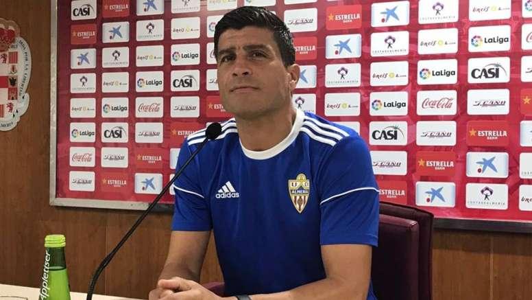 Pedro Emanuel se quejó del poco descanso que tendrá su equipo. UDAlmeria