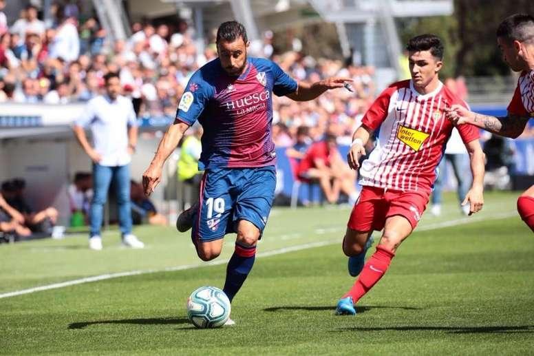 El Huesca, sin Pedro López, quiere volver a su racha inicial. SDHuesca