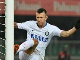 Antonio Conte wants Ivan Perisic to stay at Inter Milan. AFP