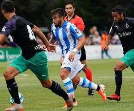 Portu lors de ses débuts avec la Real Sociedad. RealSociedad