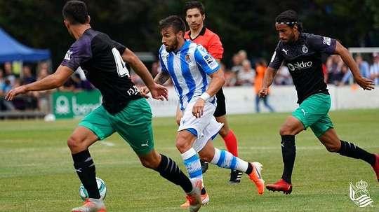 Portu s'entraînera avec la Real Sociedad. RealSociedad