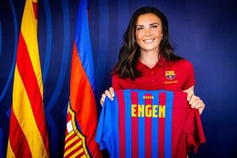 La centrocampista noruega es el primer fichaje del Barça para la 2021-22. FCBarcelona
