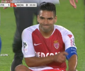 Radamel Falcao 2018. Captura/ESPN