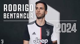 Bentancur renueva hasta 2024. JuventusFC