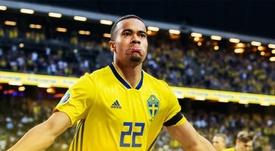 El próximo duelo de Suecia será sin público. Twitter/svenskfotboll
