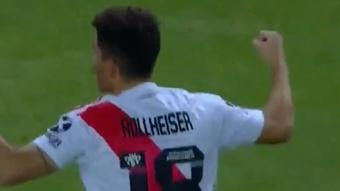 Rollheiser se gana la confianza de Gallardo. Captura/TyCSports