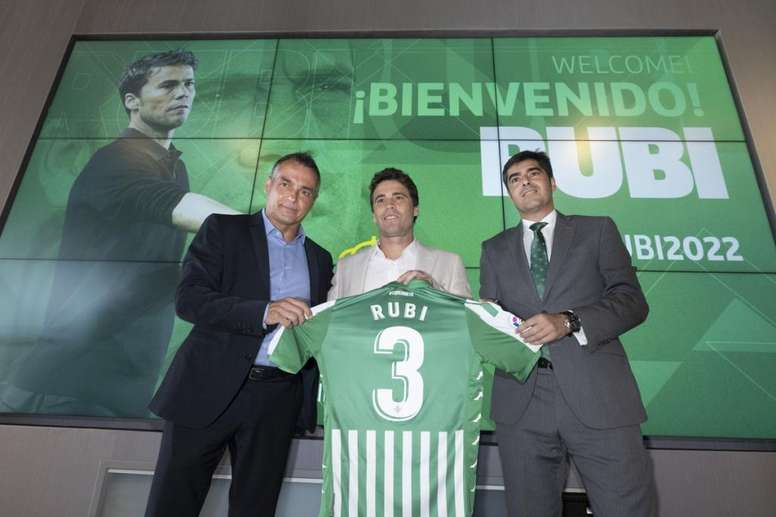 Rubi se estrenará como entrenador verdiblanco el 12 de julio. Twitter/RealBetis