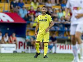 Santi Cazorla comes on as a substitute after nearly two years of being injured. VillarrealCF
