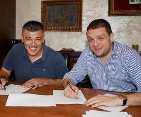 Savo Milosevic seguirá en el Partizan. Twitter/FKPartizanEN