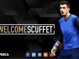 Scuffet rejoint La Spezia. Twitter/acspezia