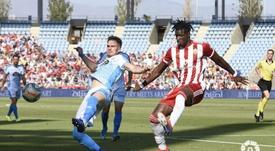 Almería y Lugo empatan a cero. LaLiga