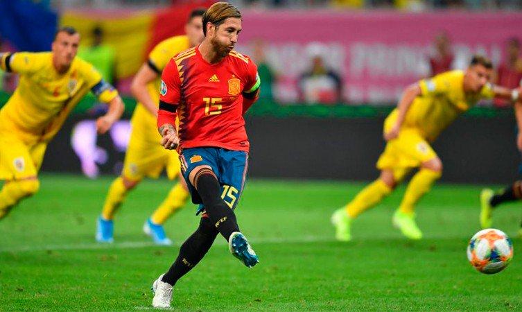 L'Espagne tient bon et s'offre trois points de plus. Twitter/SeFutbol