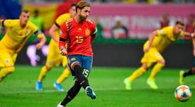 España da otro paso hacia la Eurocopa. Twitter/SeFutbol