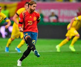 Luis Enrique fait l'éloge de son capitaine. Twitter/SeFutbol