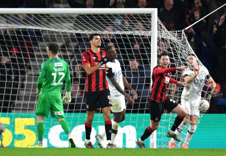 Goleada del Bournemouth al Luton Town. Twitter/afcbournemouth