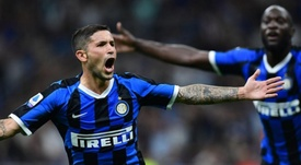 Stefano Sensi deverá se recuperar de lesão nos abdutores. AFP