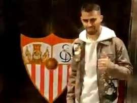 Suso est arrivé à Séville ; sa signature est imminente. Capture/ElDesmarque