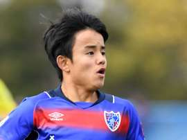 Takefusa Kubo left La Masia in 2015 due to FIFA sanctions. Twitter