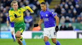 'Frenazo' a la gran racha del Leicester el día menos esperado. Twitter/LCFC