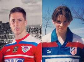Torres ha querido retirarse en el Atlético... de cierta forma. Twitter/Torres