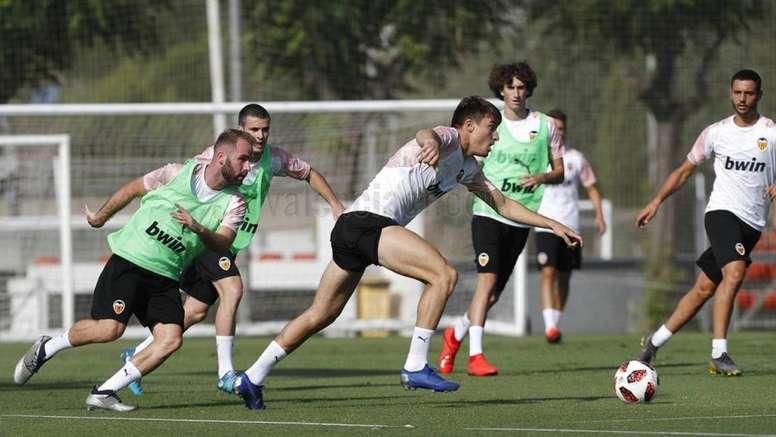 El Mestalla, a por el segundo triunfo segundo. Twitter/Academia_VCF