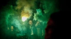 Le Betis a été reçu avec les honneurs avant le derby sévillan. Twitter/RealBetis
