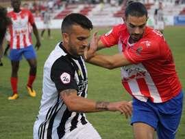 Rubén Cruz marca el camino de la victoria al Cartagena. Cartagena
