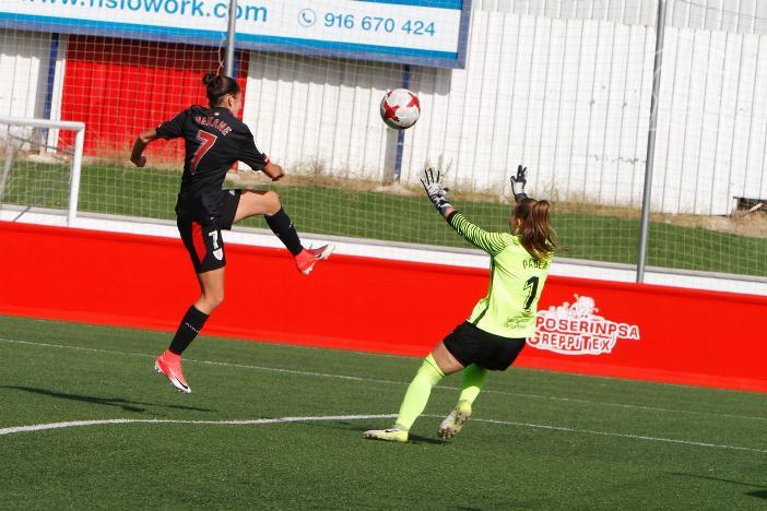 Nekane puso el gol de la victoria ante el cuadro blanco. AthleticClub
