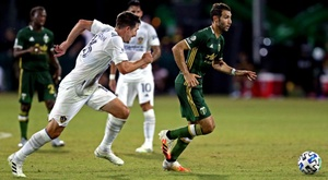 Los Timbers fueron muy superiores a Los Angeles Galaxy. Twitter/TimbersFC