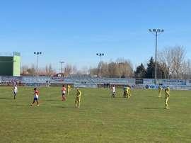 El Atlético Tordesillas y la Arandina repartieron el botín. Twitter/ArandinaCF