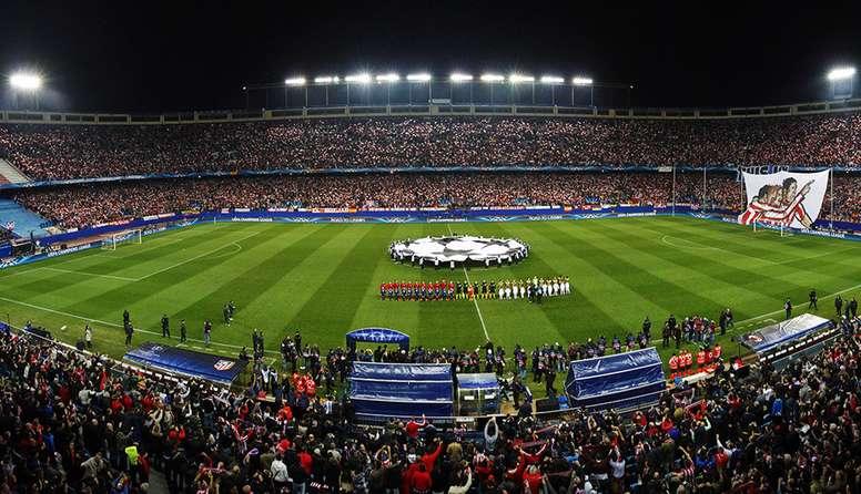 El Club Voleibol de Madrid pide al Atleti que le ceda el Calderón. ClubAtléticodeMadrid