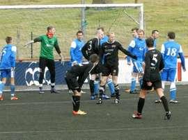 Imagen de un partido de la Tercera División de Islandia. Wikipedia